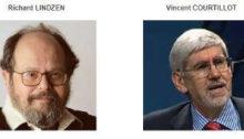 R. Lindzen et V. Courtillot
